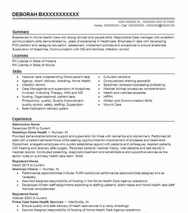 best case manager resume example