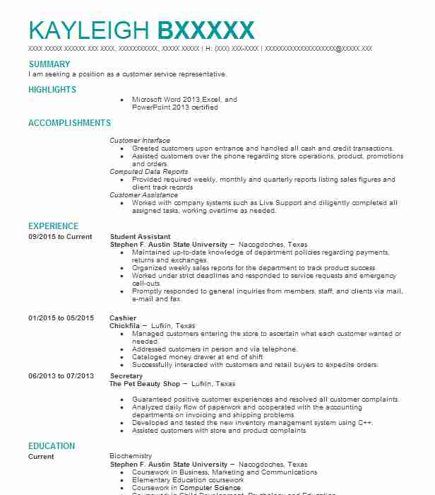Student Assistant Resume Sample Assistant Resumes Livecareer