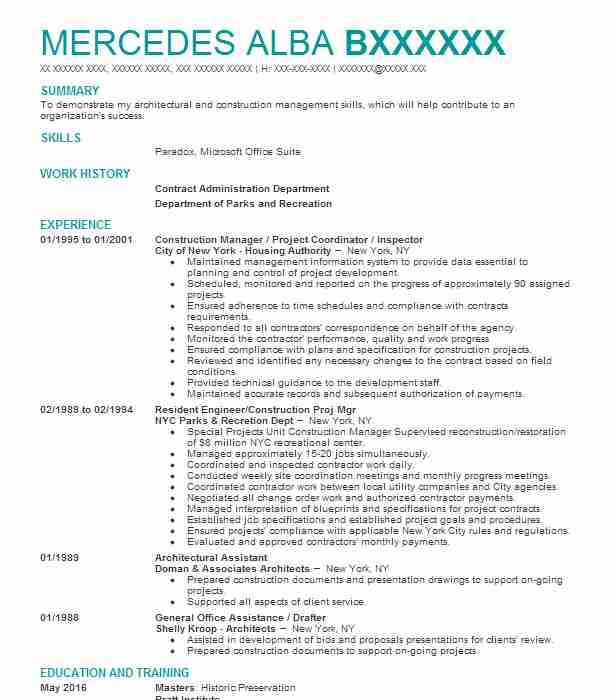 principal architect resume example yochanait contract with