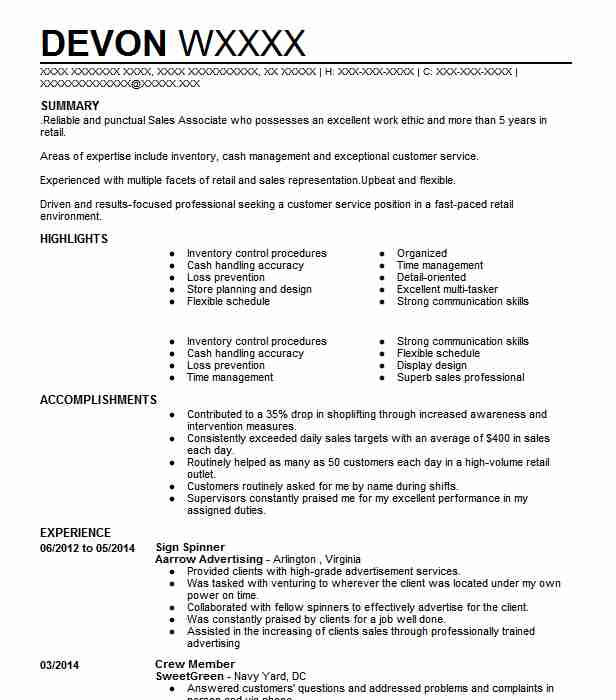 Find Resume Examples In Fort Washington, MD