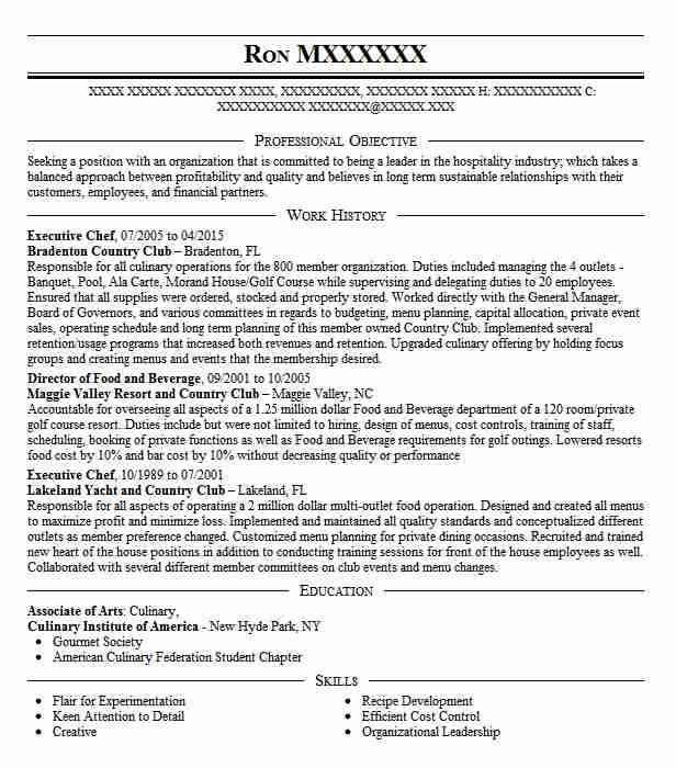 culinary director  executive chef resume example zed451