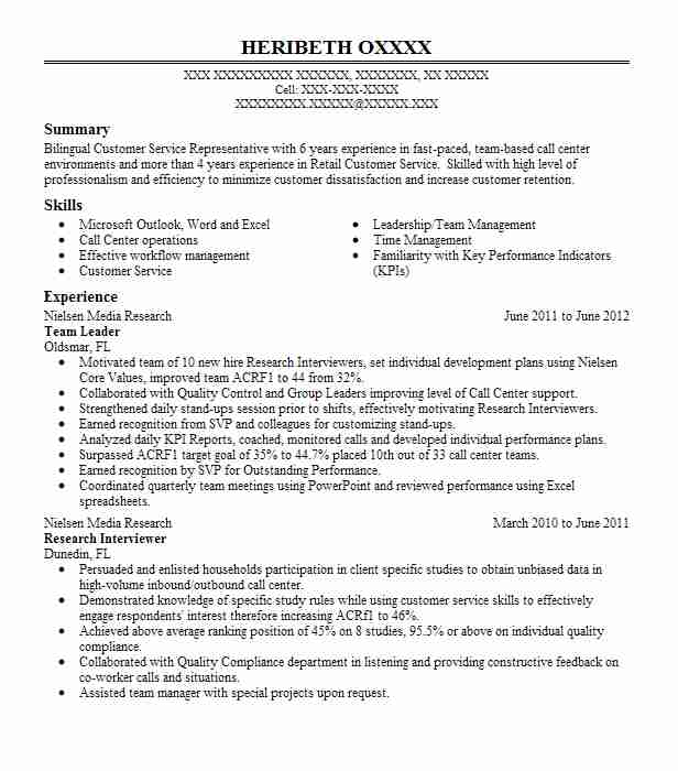 192 customer service resume examples in yonkers ny livecareer