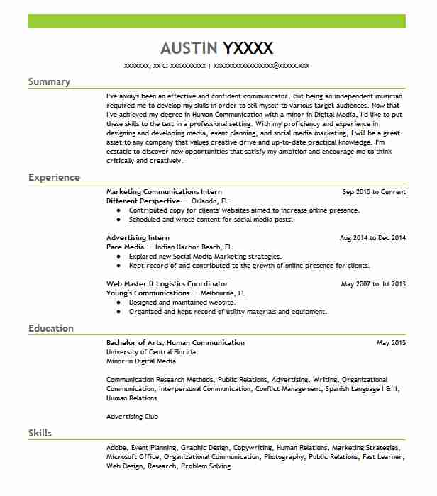 159 Media Planning Resume Examples in Florida | LiveCareer