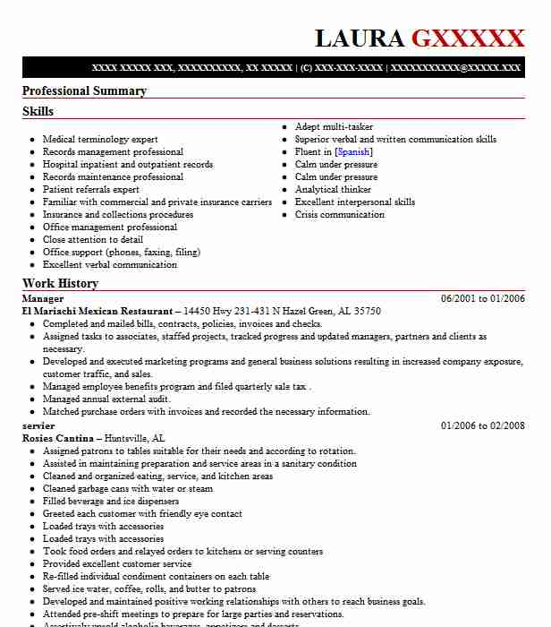 Amazing LiveCareer  Sample Healthcare Resume