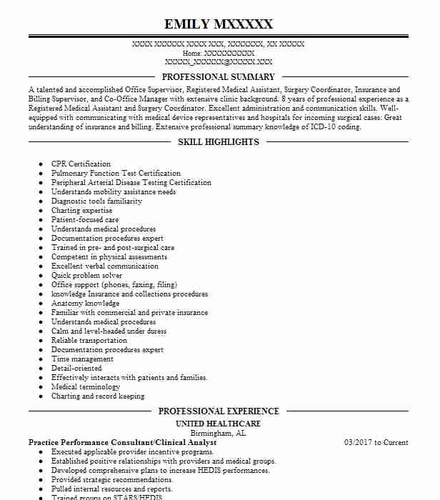 Doctor Resume Samples. INTERN · Practice Performance Consultant/Clinical  Analyst