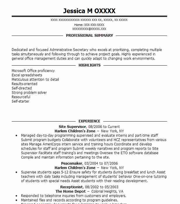 Create My Resume  Spa Receptionist Resume