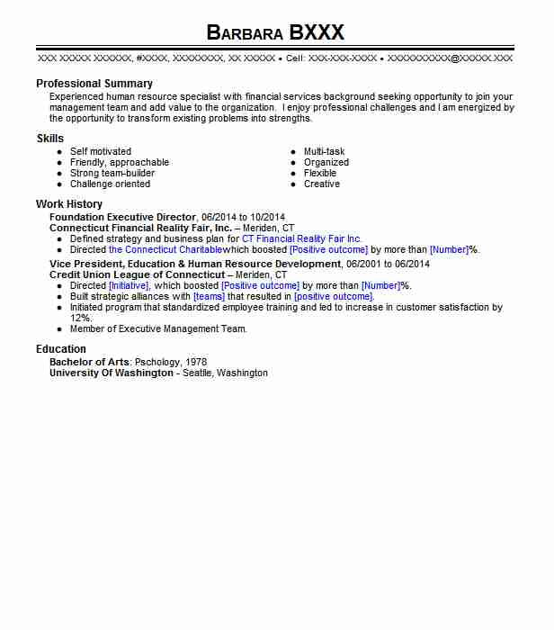 Executive Director Resume | Foundation Executive Director Resume Sample Livecareer