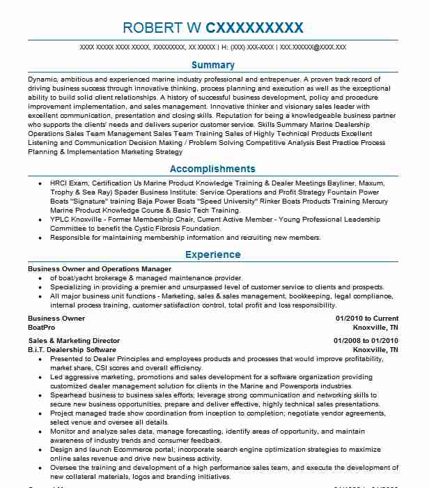 Manager Business Owner Resume Example Angel S Gas