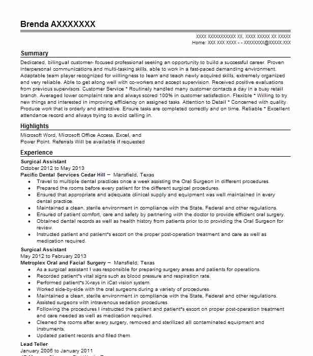 Create My Resume  Personal Banker Resume Samples