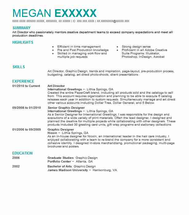 art resume example central middle school