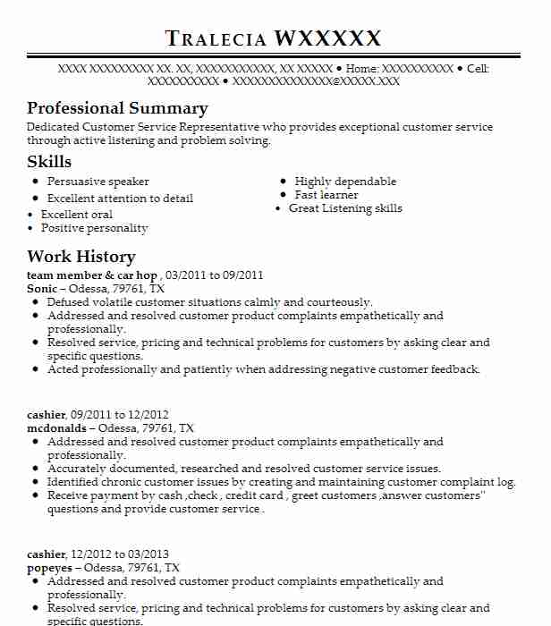 Top Call Center Resume  Call Center Resumes
