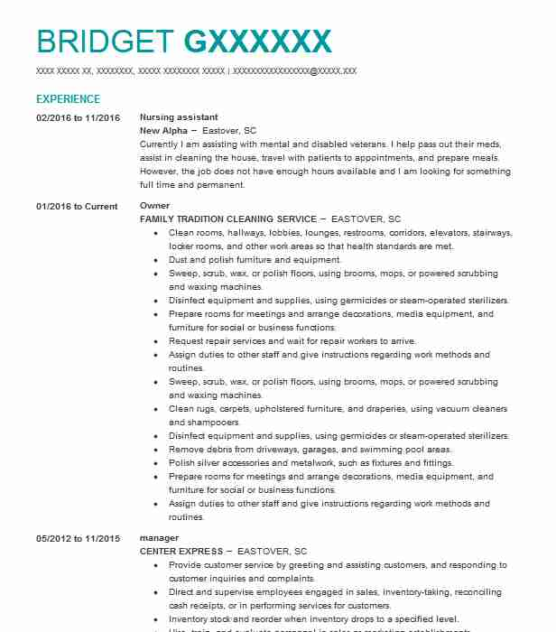 nursing assistant resume sample nursing resumes livecareer