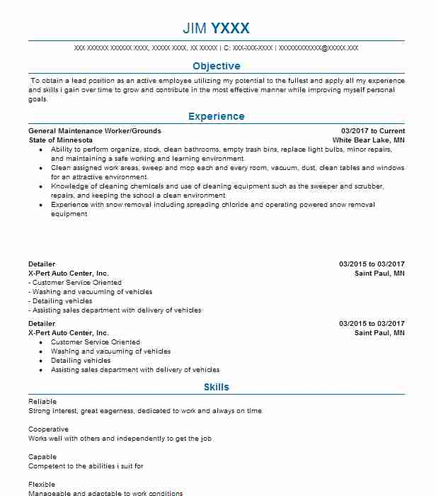 Create My Resume  Real Estate Appraiser Resume
