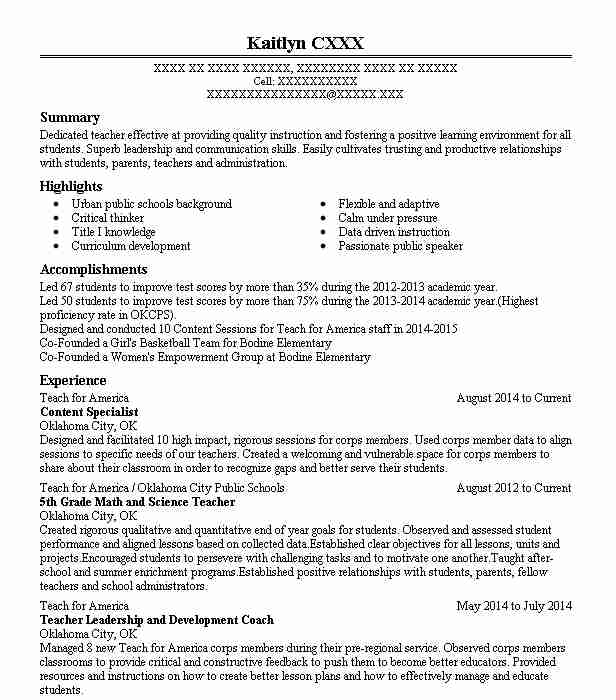 content acquisition specialist resume example thomson