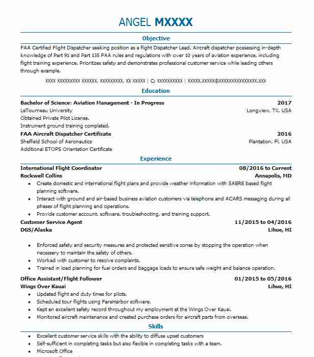 32787 travel and hospitality resume examples samples livecareer
