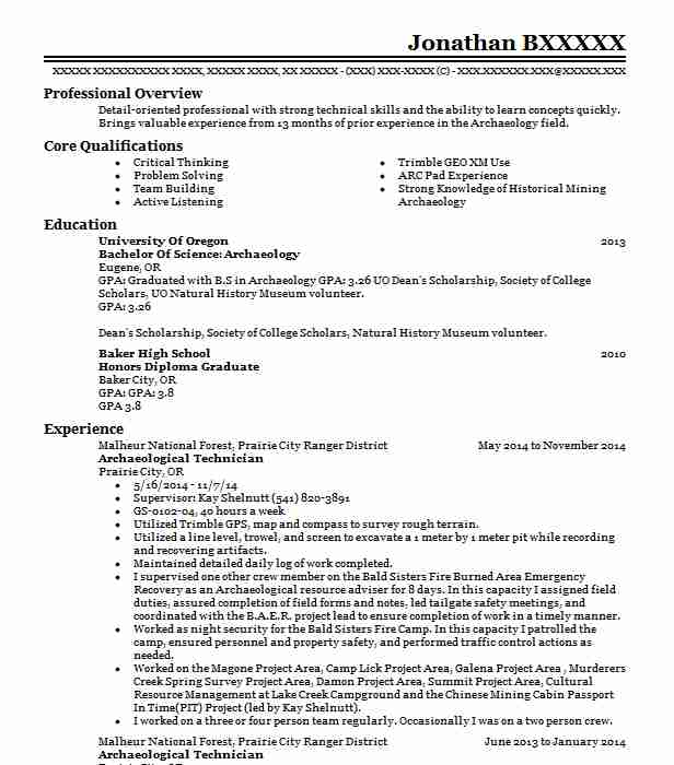 Find Resume Examples in Baker City, OR | LiveCareer