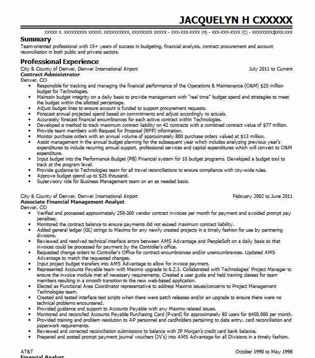 contract administrator resume example siemens healthcare