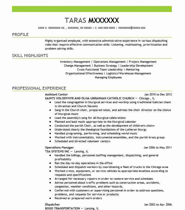 210 Religion And Theology Resume Examples in Illinois | LiveCareer