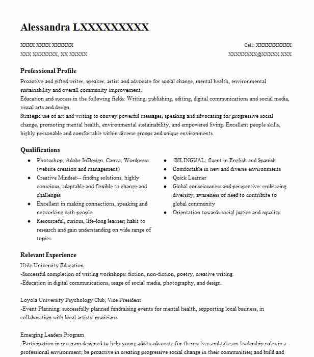 61 Education And Vocational Counseling Resume Examples in Louisiana ...
