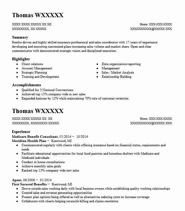 life coach resume sample