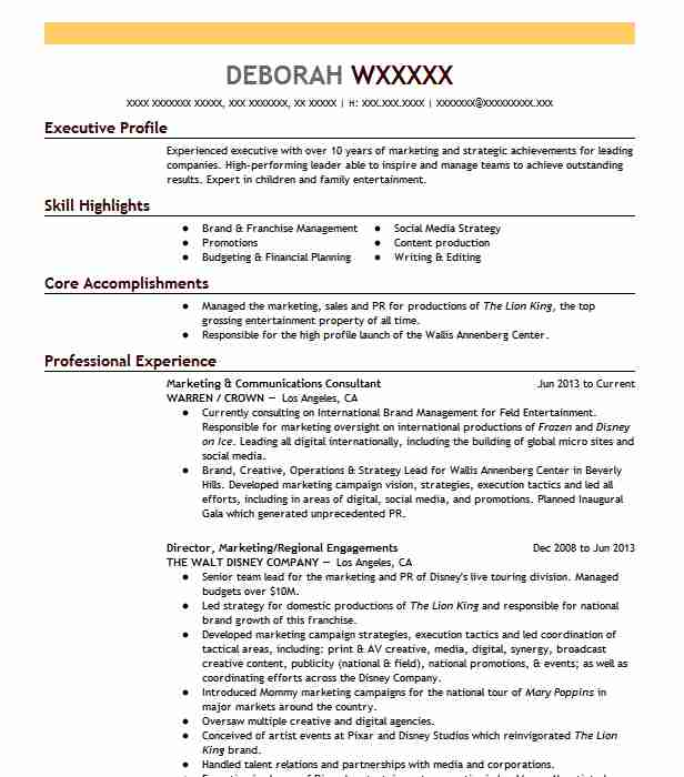 freelance publicist resume example allied advertising and