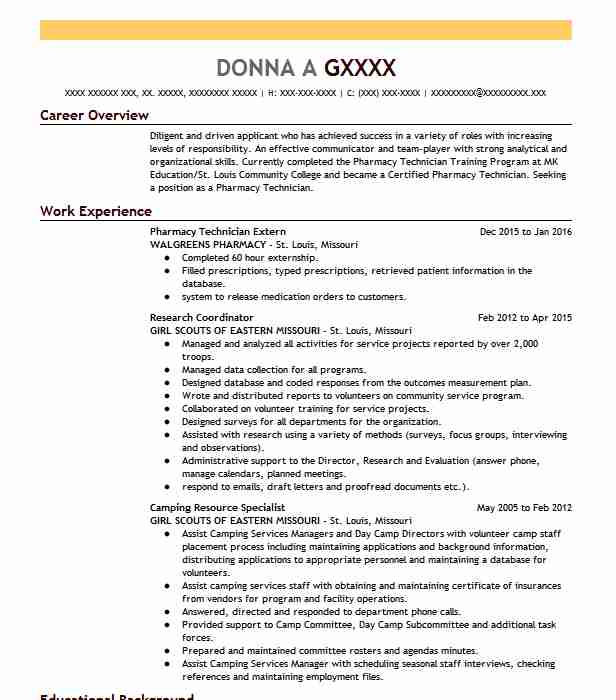 317 Pharmacology And Pharmaceuticals (Healthcare) Resume Examples in ...