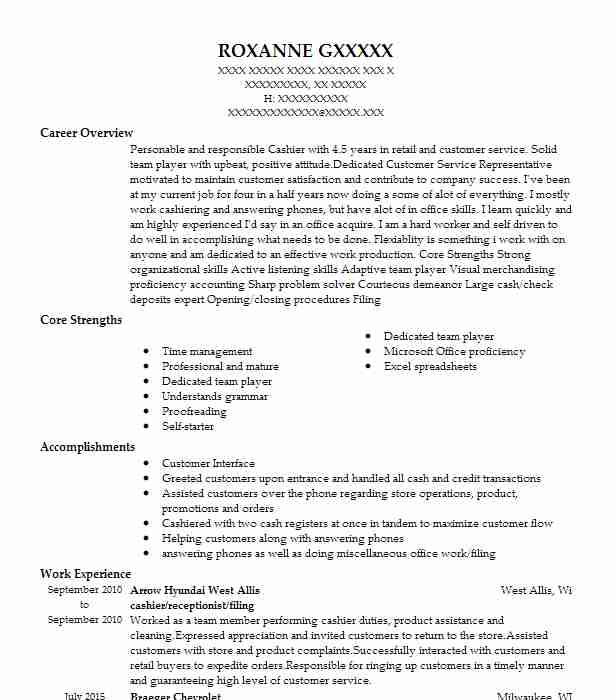 title examiner resume sample
