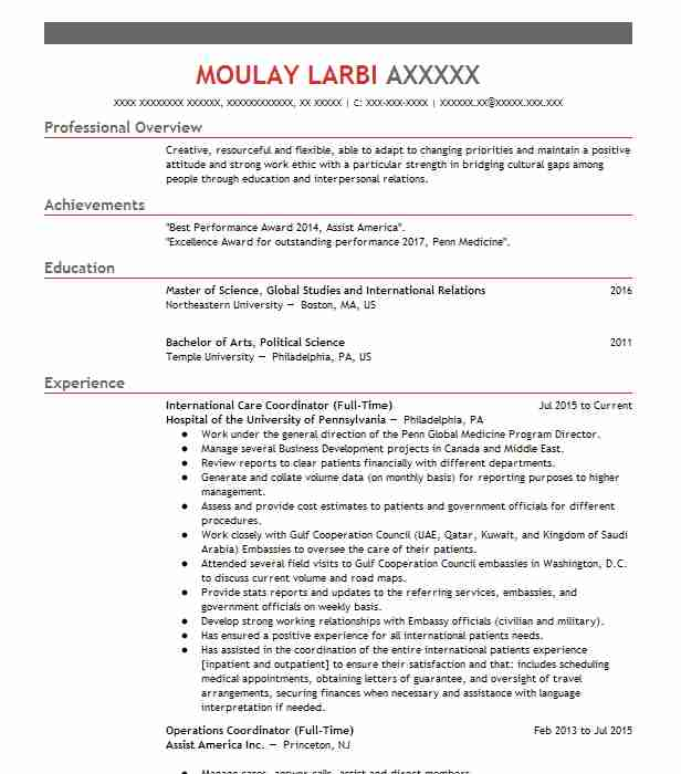 top political science resume - Resume Bachelor Of Science