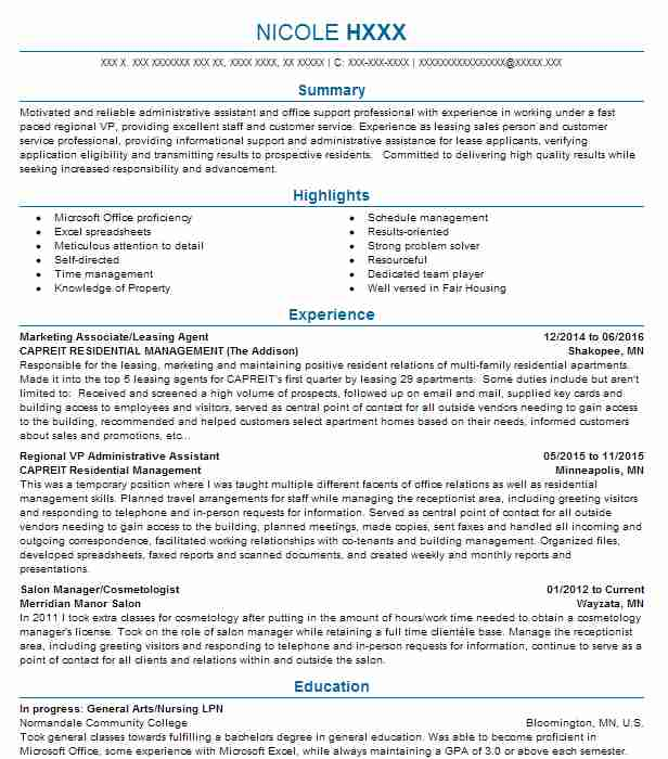 Find Resume Examples in Long Lake, MN | LiveCareer