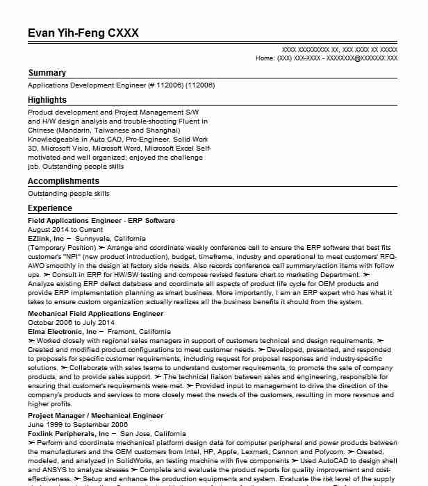 erp software sales executive resume example oracle