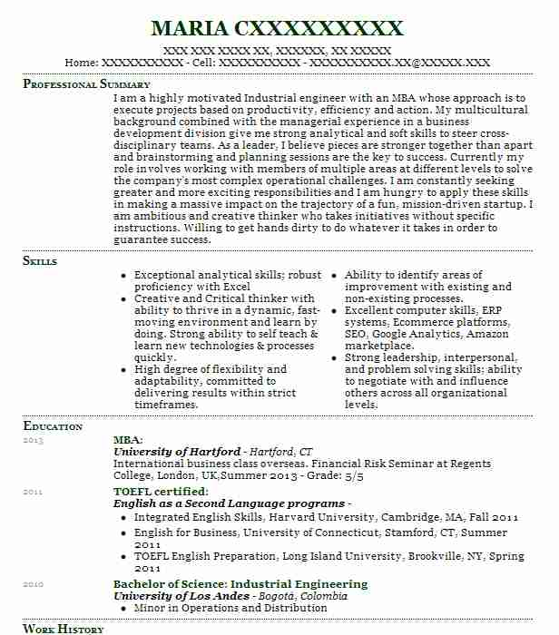 Ecommerce Site/Project Manager Resume Example J.C. Penney