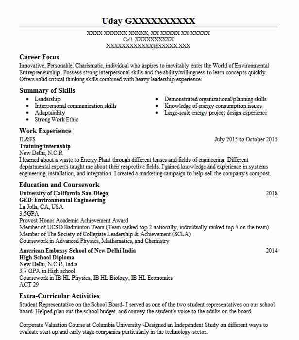 8 Objective Statement Resume Samples: Training Internship Objectives