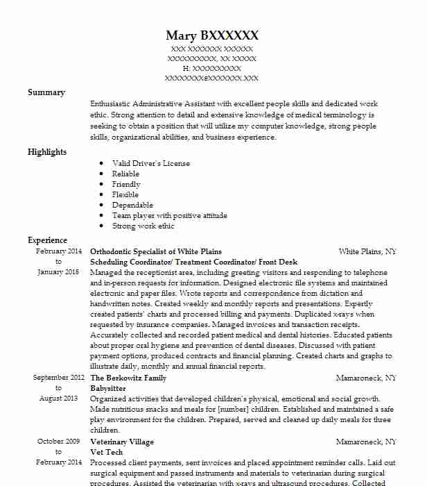 Similar Resumes  How To Put Babysitting On A Resume