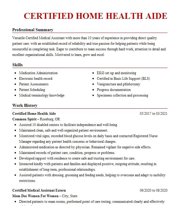 Home health aid resume war on drugs essay thesis