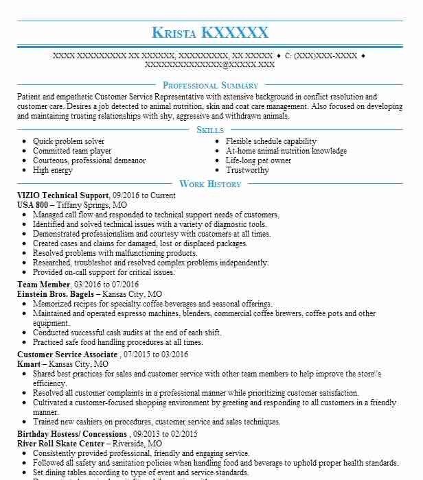 111 animal science resume examples in missouri
