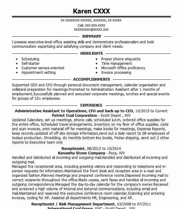Find Resume Examples In Buffalo, WV
