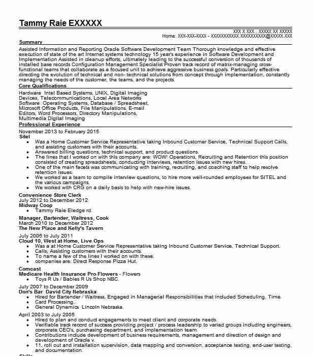 convenience store clerk resume sample