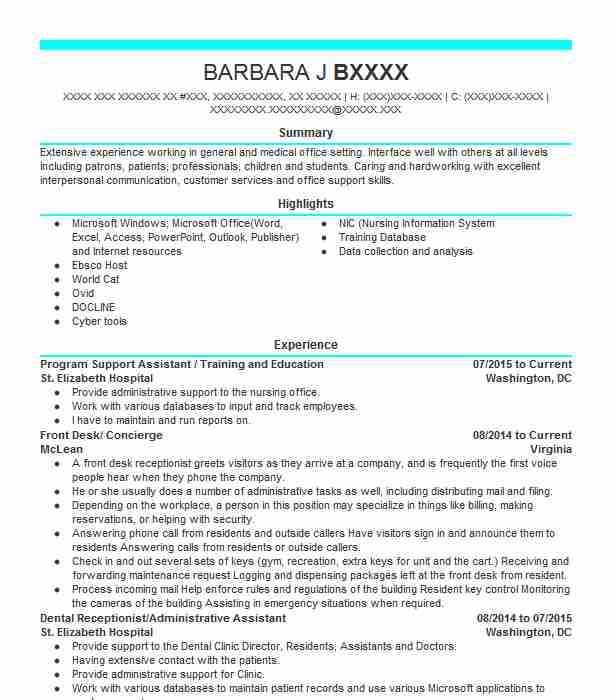 eais education assistant intensive support resume example