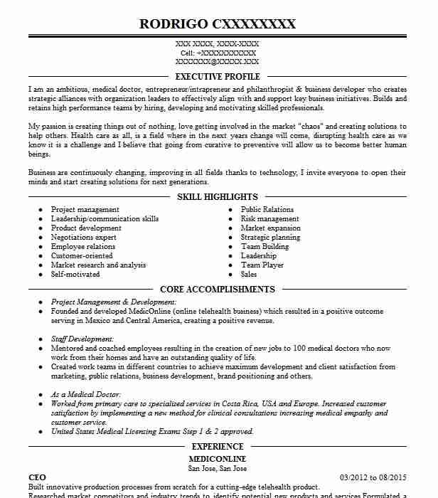 Online Seller And Buyer Resume Example Self Employed