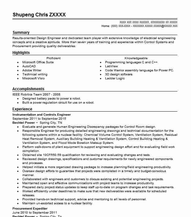 536 Electrical And Electronic Engineers (Engineering) Resume ...