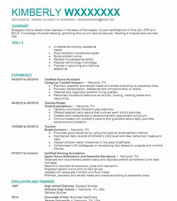 101992 daycare resume examples childcare resumes livecareer