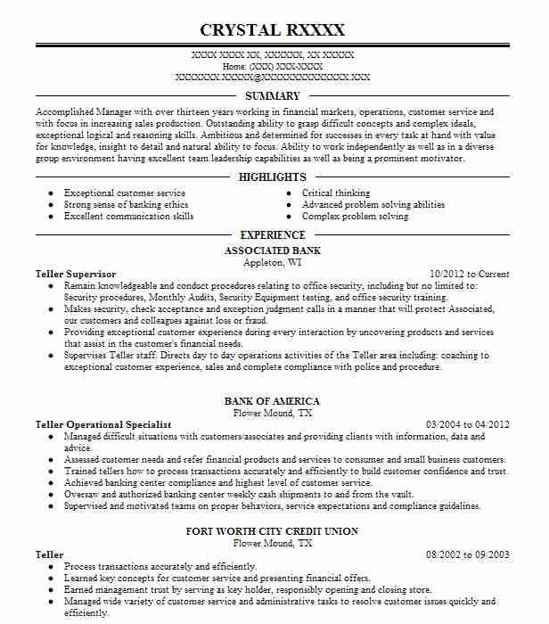 find resume examples in neenah  wi