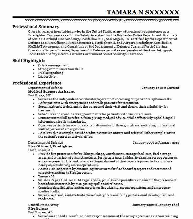 Medical Support Assistant Objectives Resume Objective