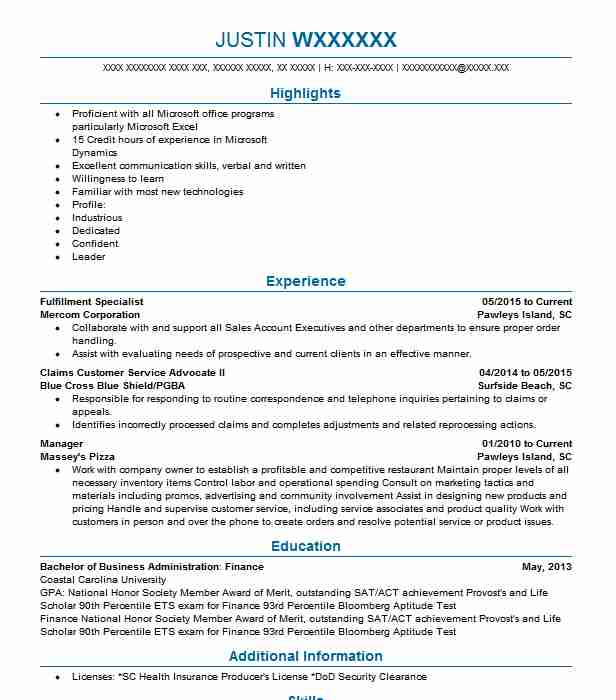 384 Financial Management (Accounting And Finance) Resume Examples in ...