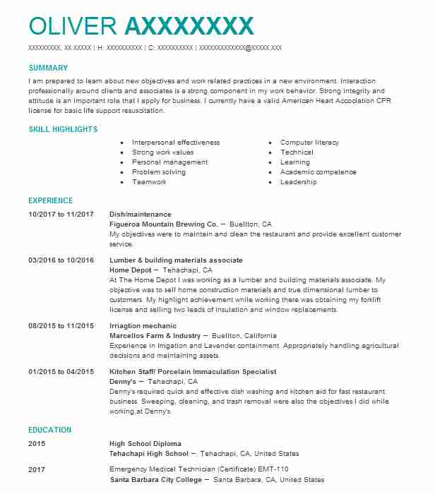 16571 electrical and electronics resume examples installation and