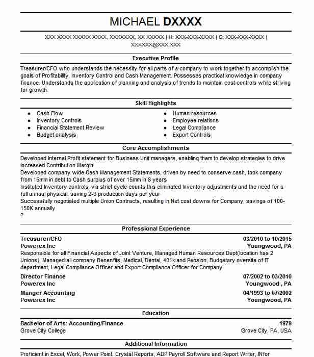 Find Resume Examples In Youngwood, PA