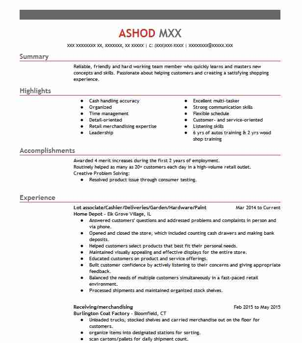 find resume examples in roselle  il