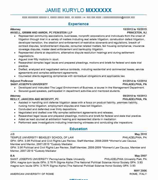 lawyer resume template eye grabbing attorney resumes samples livecareer 22710 | 81313480 117246433