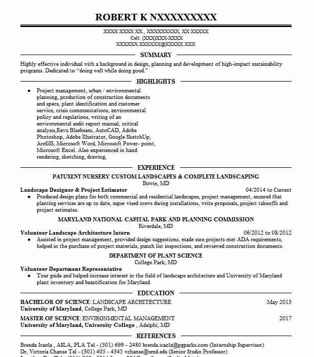 47 Renewable Energy Resume Examples in Maryland | LiveCareer