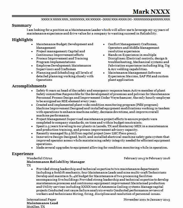 Reliability manager resume essay about the globalization